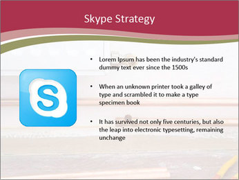 Copper pipes and pliers PowerPoint Template - Slide 8
