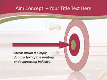 Copper pipes and pliers PowerPoint Template - Slide 83