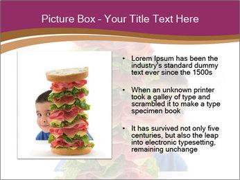 Big sandwich PowerPoint Template - Slide 13