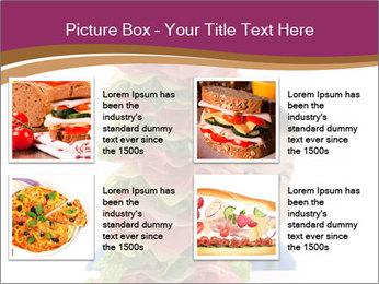 Big sandwich PowerPoint Template - Slide 14