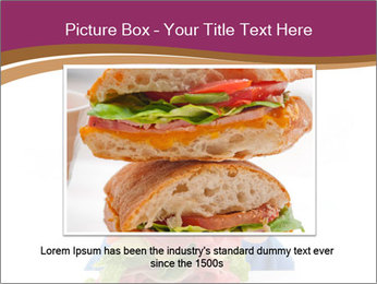 Big sandwich PowerPoint Templates - Slide 15