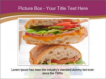 Big sandwich PowerPoint Template - Slide 15