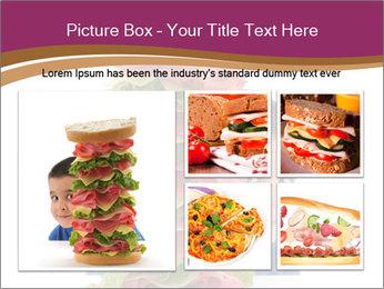 Big sandwich PowerPoint Template - Slide 19