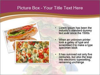 Big sandwich PowerPoint Template - Slide 20