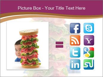 Big sandwich PowerPoint Template - Slide 21