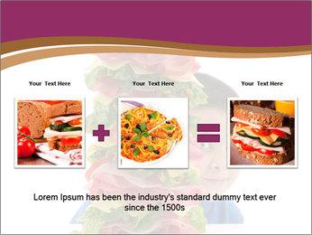 Big sandwich PowerPoint Template - Slide 22