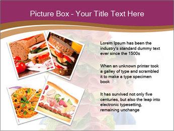 Big sandwich PowerPoint Template - Slide 23