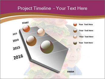 Big sandwich PowerPoint Template - Slide 26