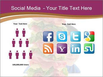 Big sandwich PowerPoint Template - Slide 5