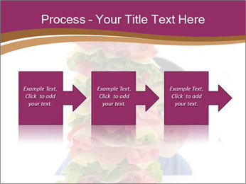 Big sandwich PowerPoint Templates - Slide 88