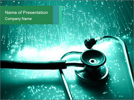 High tech technology PowerPoint Template