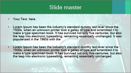 High tech technology PowerPoint Template - Slide 2