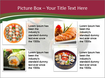 Sushi maki PowerPoint Template - Slide 14