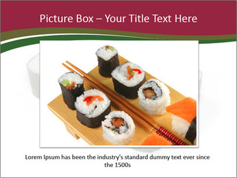 Sushi maki PowerPoint Template - Slide 15