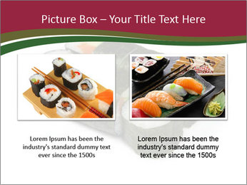 Sushi maki PowerPoint Template - Slide 18