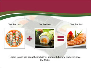 Sushi maki PowerPoint Template - Slide 22