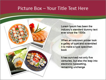 Sushi maki PowerPoint Template - Slide 23