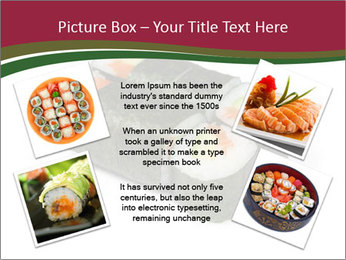 Sushi maki PowerPoint Template - Slide 24