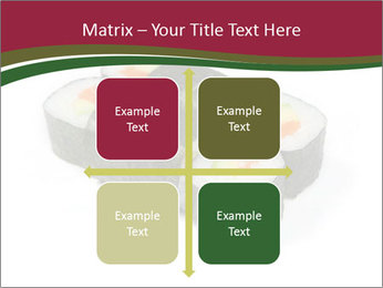 Sushi maki PowerPoint Templates - Slide 37