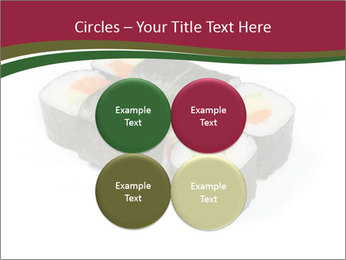Sushi maki PowerPoint Templates - Slide 38