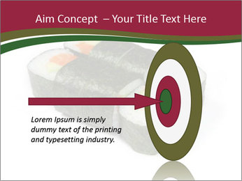 Sushi maki PowerPoint Template - Slide 83