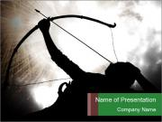 A silhouette PowerPoint Templates