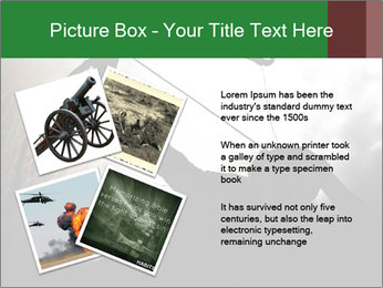 A silhouette PowerPoint Template - Slide 23