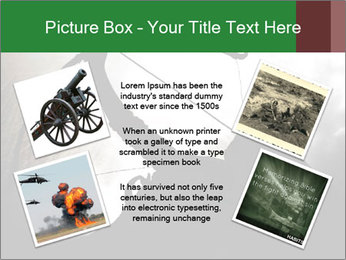 A silhouette PowerPoint Template - Slide 24