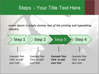 A silhouette PowerPoint Template - Slide 4