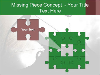 A silhouette PowerPoint Template - Slide 45