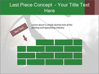 A silhouette PowerPoint Template - Slide 46