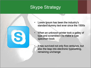 A silhouette PowerPoint Template - Slide 8