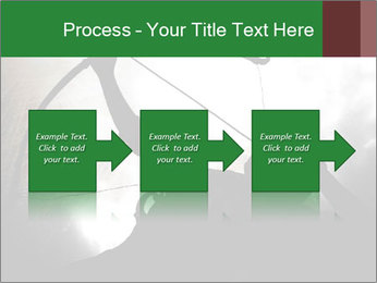 A silhouette PowerPoint Template - Slide 88