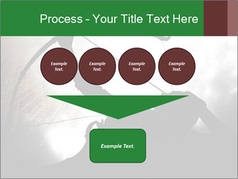 A silhouette PowerPoint Template - Slide 93