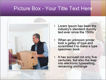 Holding boxes PowerPoint Template - Slide 13
