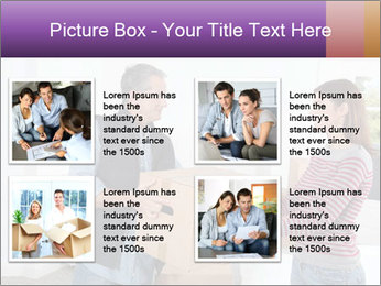 Holding boxes PowerPoint Template - Slide 14