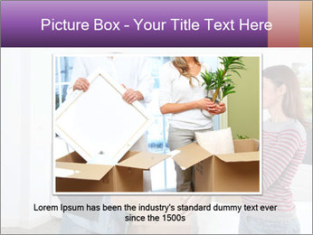 Holding boxes PowerPoint Template - Slide 15