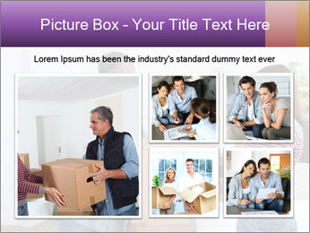 Holding boxes PowerPoint Template - Slide 19