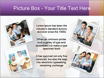 Holding boxes PowerPoint Template - Slide 24