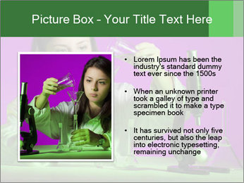 Girl playing PowerPoint Template - Slide 13