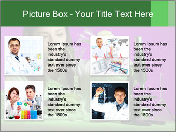 Girl playing PowerPoint Template - Slide 14