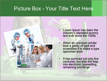 Girl playing PowerPoint Template - Slide 20