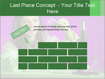 Girl playing PowerPoint Template - Slide 46