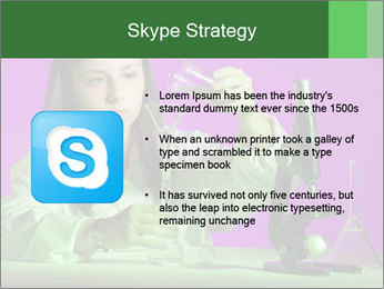 Girl playing PowerPoint Template - Slide 8