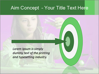 Girl playing PowerPoint Template - Slide 83