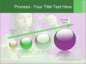 Girl playing PowerPoint Template - Slide 87