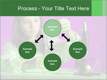 Girl playing PowerPoint Template - Slide 91