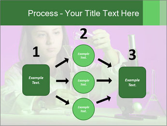 Girl playing PowerPoint Template - Slide 92