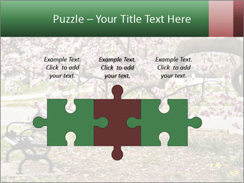 Park bench PowerPoint Templates - Slide 42