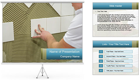 Wall PowerPoint Template